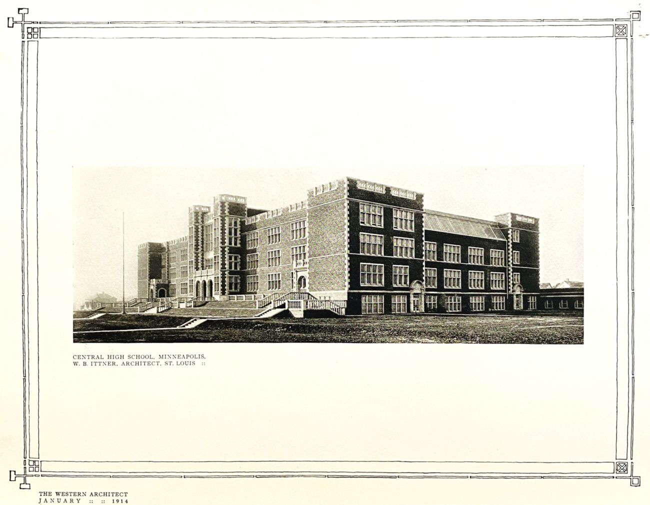 Image of Central High School.