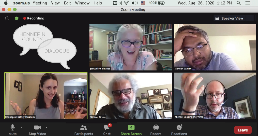 Image of zoom meeting screenshot.
