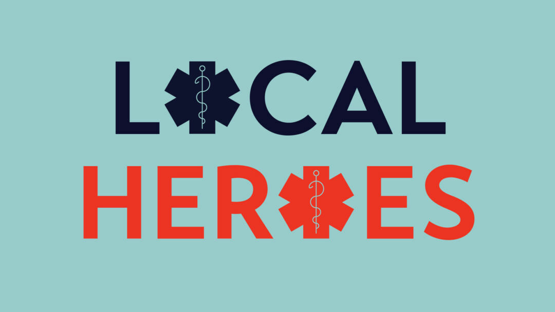 Local Heroes exhibit logo