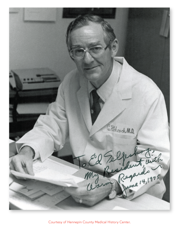 Image of Dr. Claude Hitchock.