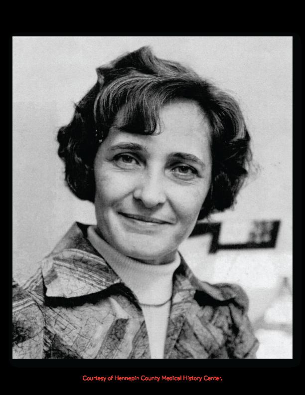 Image of Margaret Hewitt.