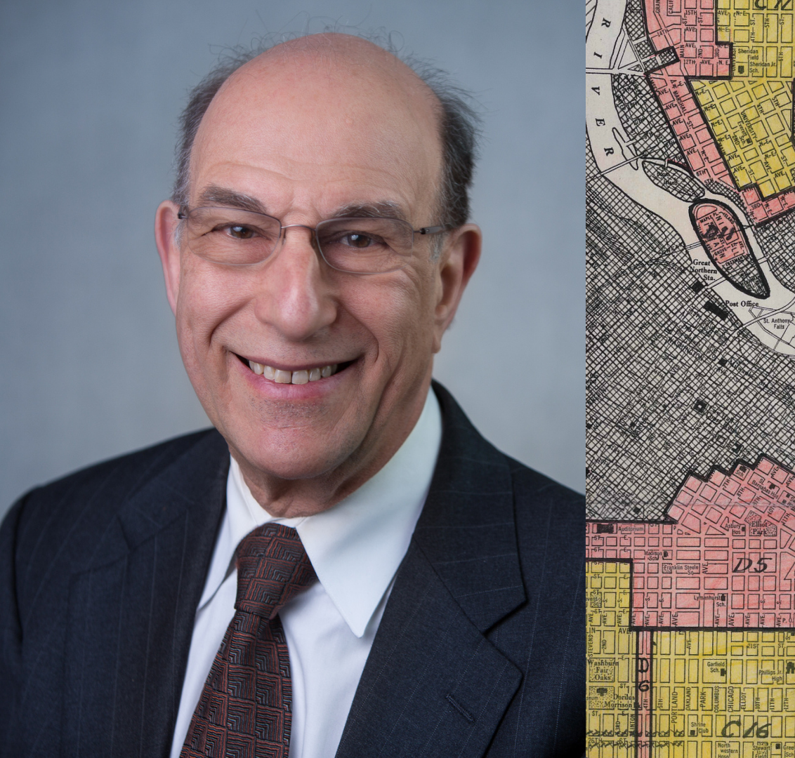 Richard Rothstein and Minneapolis redlining map