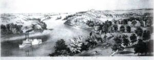 Sketch of St. Anthony Falls