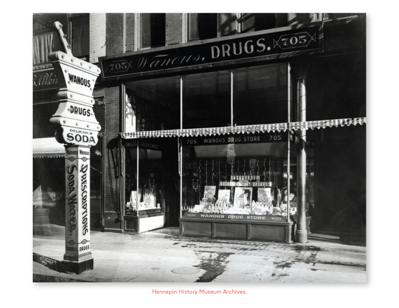 Image of Wanous Drug Store.