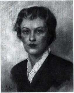 Portrait of a woman not smiling