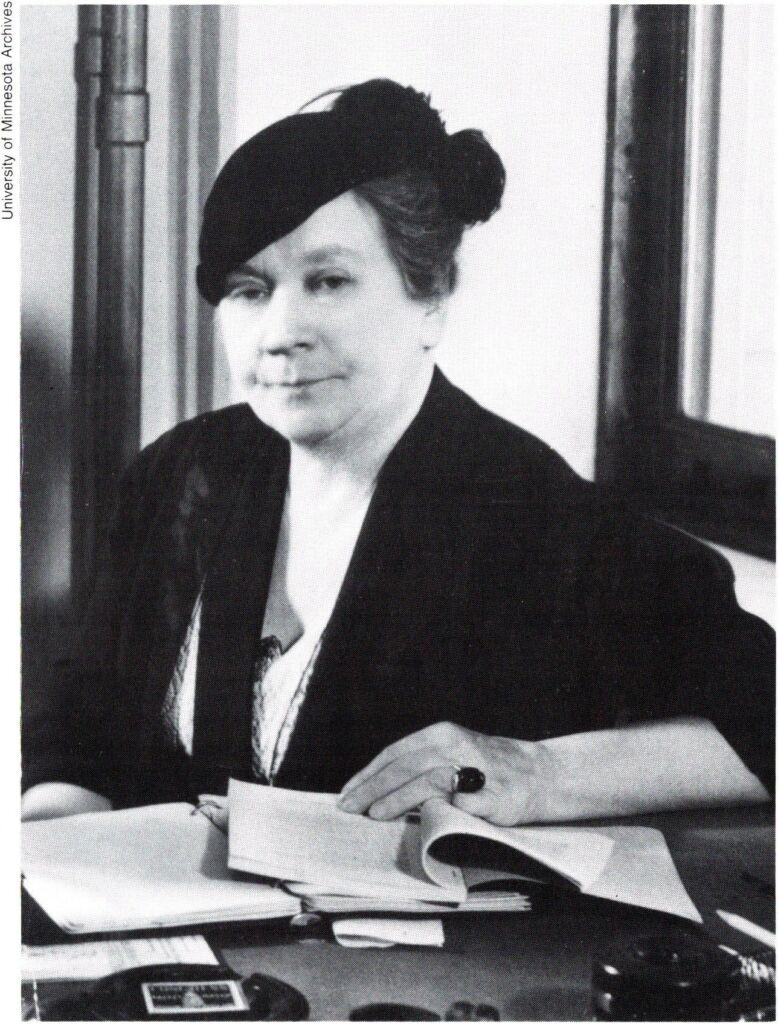 Verna Scott Portrait at a desk
