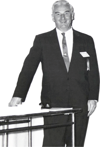 A person in a suit and tie