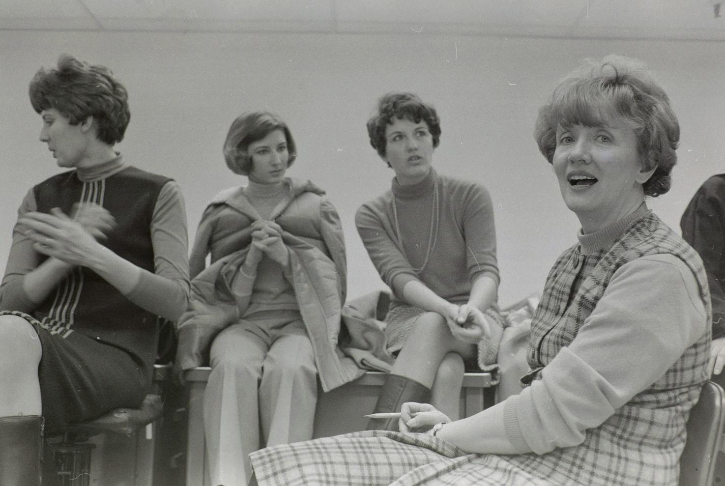 4 women sitting